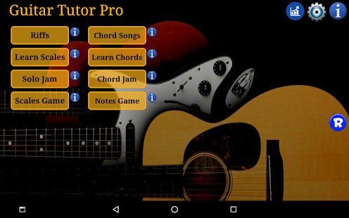 Guitar Tutor Pro - Learn Songs Screenshot