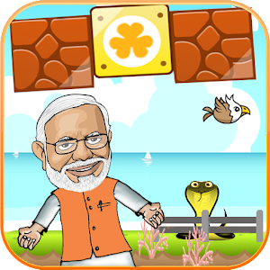 Super Modi Mario Run for PC and MAC