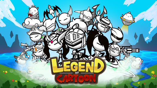Code Triche Legend of the cartoon - idle RPG APK MOD screenshots 6