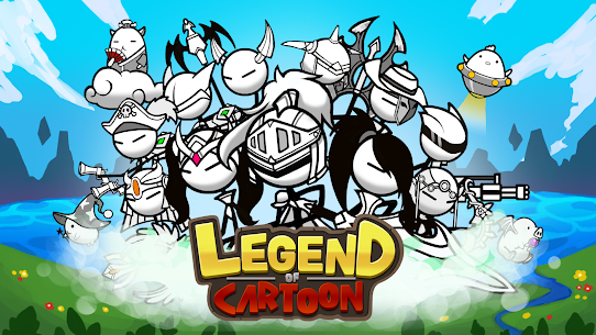 Legend of the cartoon – idle RPG Apk Download For Android and Iphone 6