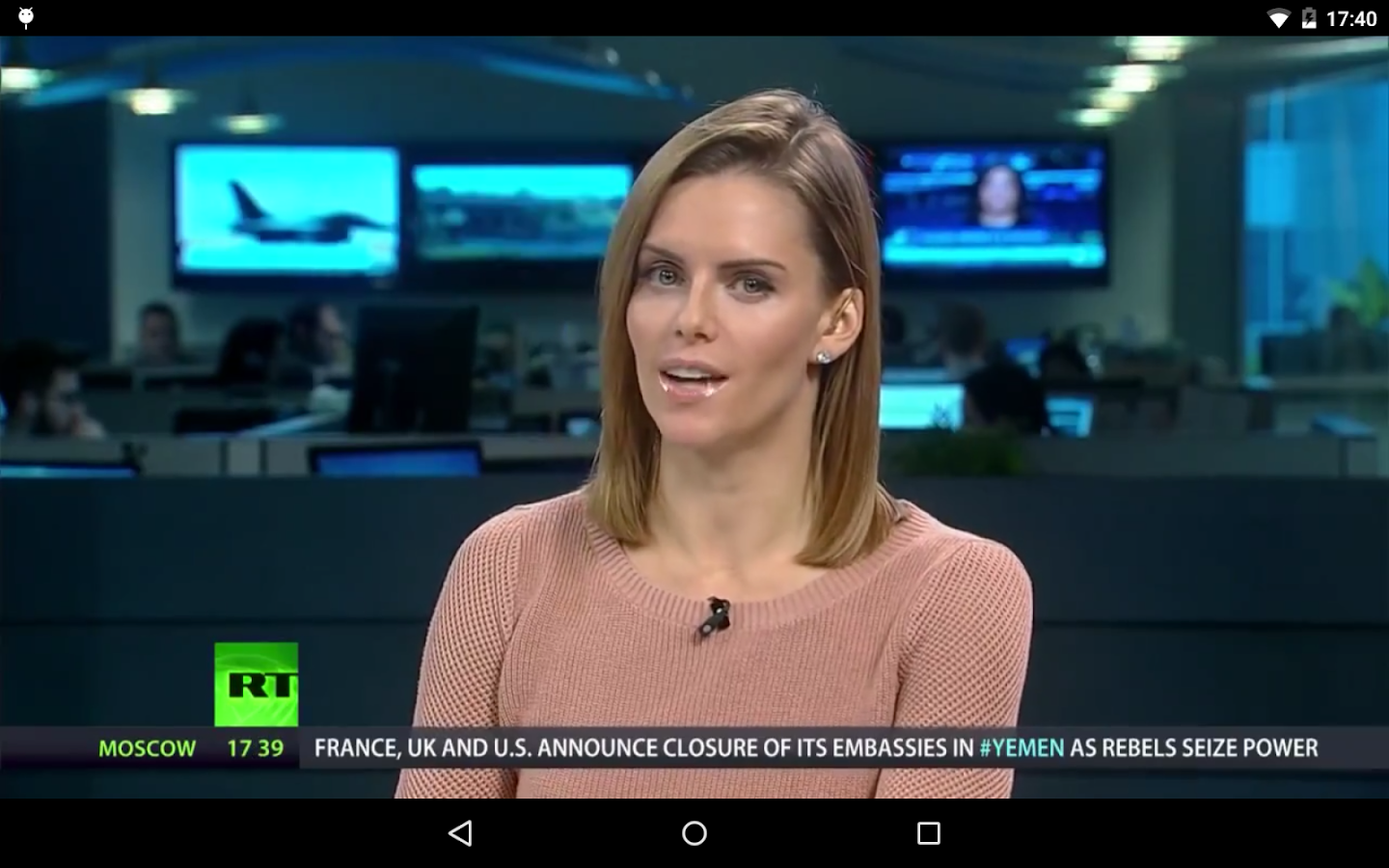 RT News (Russia Today) - screenshot