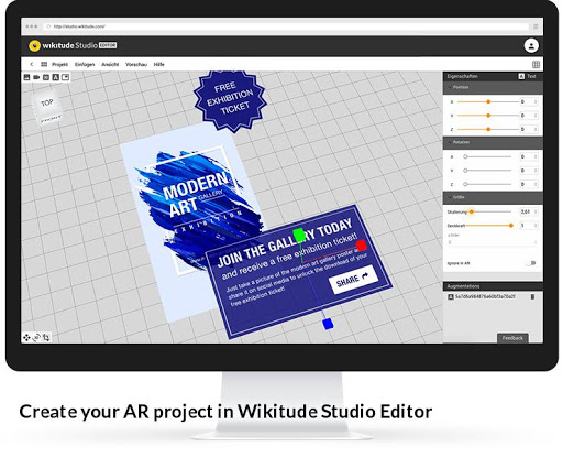 Wikitude screenshot 3