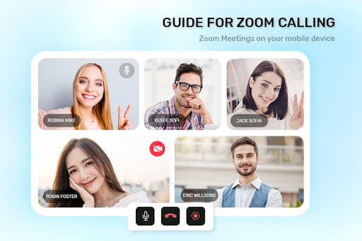 Guide For ZOOM Cloud Meetings VideoCall Conference screenshot 5