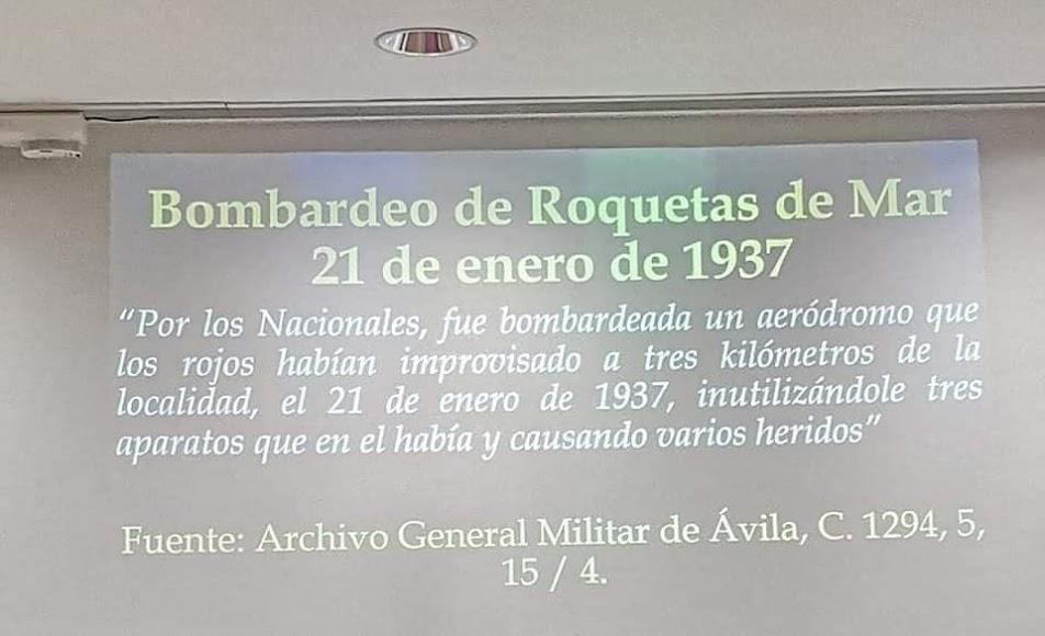 Bombardeo de Roquetas de Mar el 21 de enero de 1937.