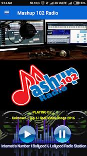 Mashup 102 Radio screenshot