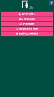 Screenshot of Hangman (Swedish)