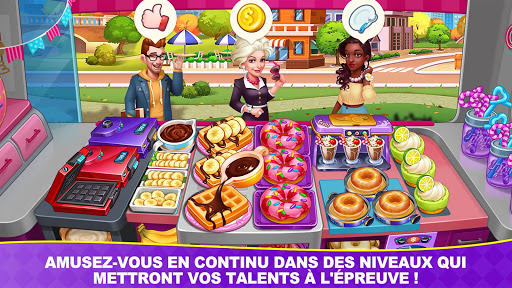 Télécharger Jeux culinaires Chef Toqué/Cooking Frenzy: Madness  APK MOD (Astuce) screenshots 6
