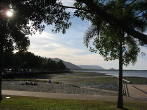 Photo: View from the end of the Esplanade in Cairns.