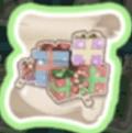クリスマスの収納ボックスの設計図