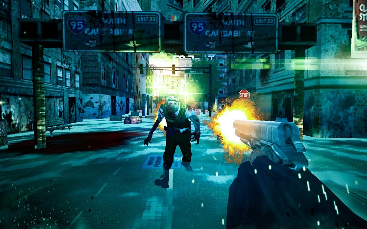a Zombie: Dead City- screenshot