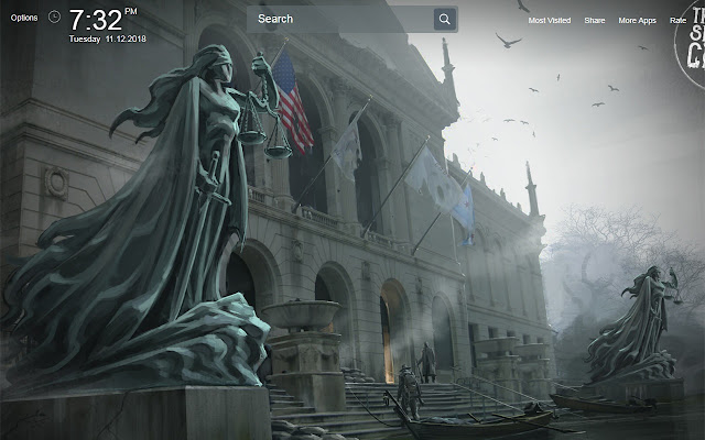 The Sinking City Wallpapers Theme New Tab