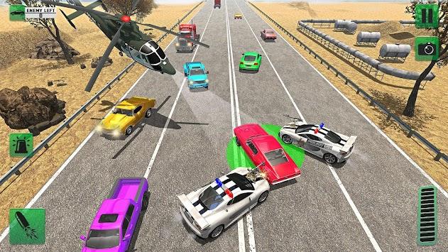 City Highway Police Chase 2018: Crime Racing Sim apk screenshot