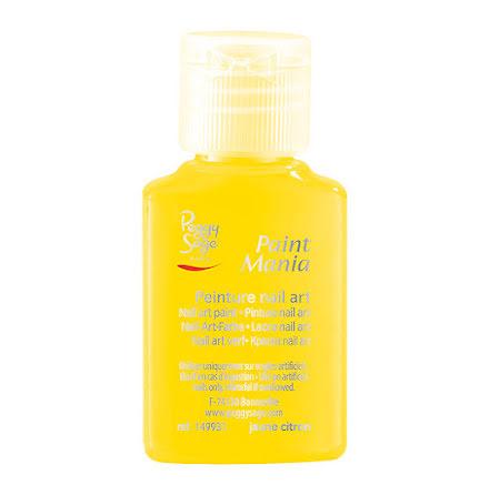 Akrylfärg för nailart jaune citron 25ml