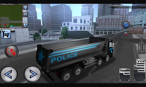 3D Police Truck Simulator 2016
