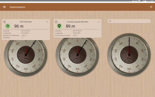 Accurate Altimeter Android Apps On Google Play - My location sea level