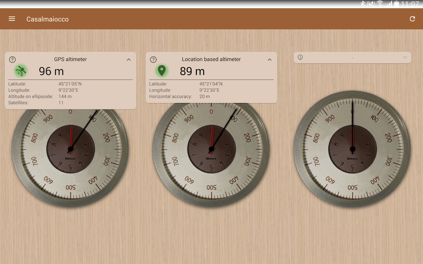 Accurate Altimeter Android Apps On Google Play - Our current altitude