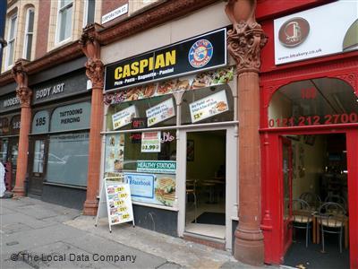 Caspian Pizza on Corporation Street - Pizza Takeaway in City