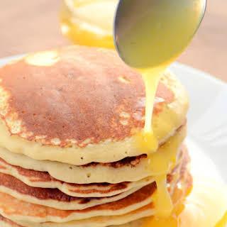 Best Banana Pancakes With Orange Sauce.