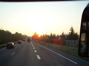 Photo: Départ au petit matin