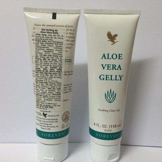 Gel dưỡng da lô hội Aloe Vera Gelly mã số 061