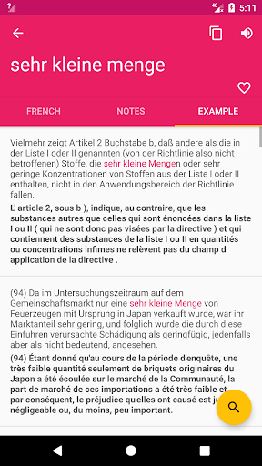 French German Offline Dictionary & Translator screenshot 2