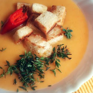 Super Healthy Root Vegetable Cream Soup