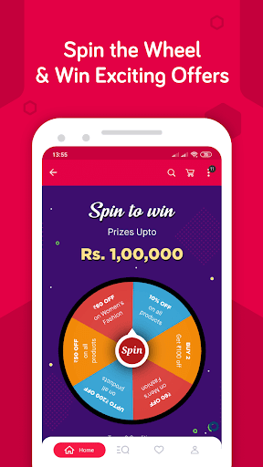 Aplicación de compras en línea Snapdeal: capturas de pantalla de Shop Online India 4