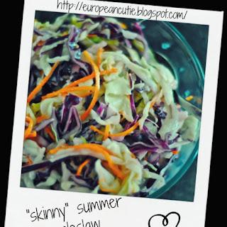 """""""skinny"""" Summer Coleslaw ♥"""