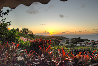 Photo: lever de soleil sur Trois Riviéres