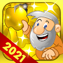 Gold Miner Classic: Gold Rush - Mine Mining Games icon