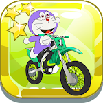 Crazy Doramon Motocross Icon