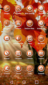 Enyo Orange - Icon Pack screenshot 1