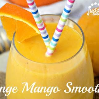 Orange Mango Smoothie.