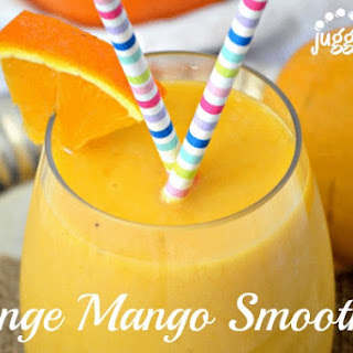 Orange Mango Smoothie.