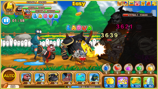Larva Heroes: Battle League apktram screenshots 7