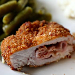 Southern Pork Cordon Bleu.