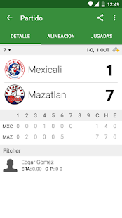 Beisbol Mexico- screenshot thumbnail