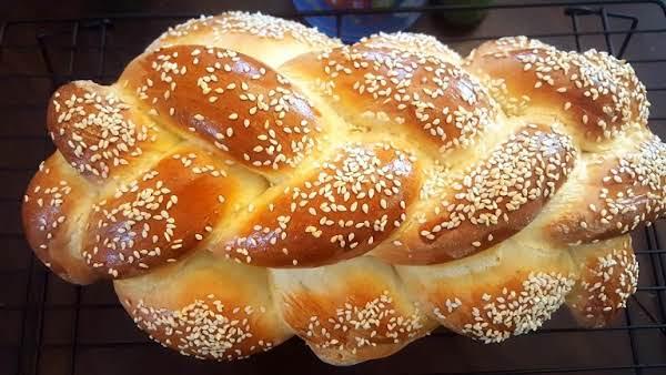 Braided Egg Bread (challah) Recipe