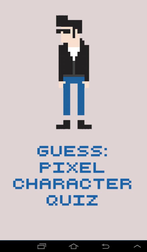 Скриншот Guess: Pixel Character Quiz
