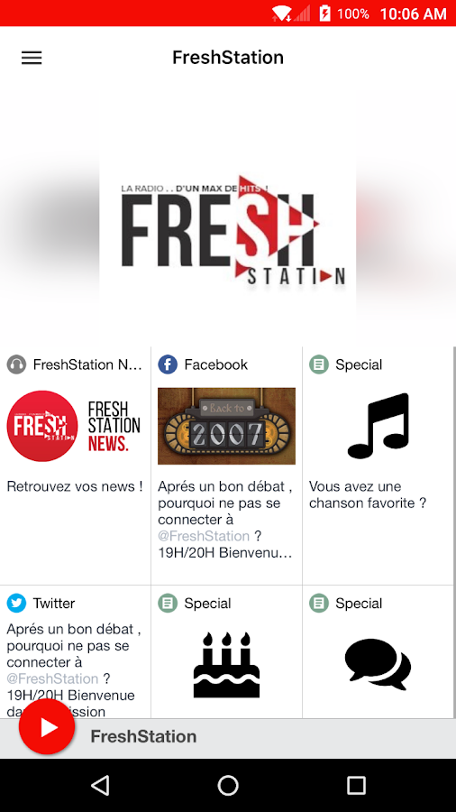 FreshStation- screenshot
