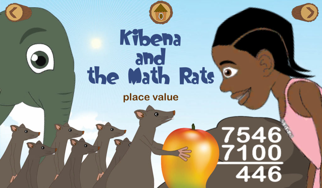 Ubongo Kids - Math Rats- screenshot