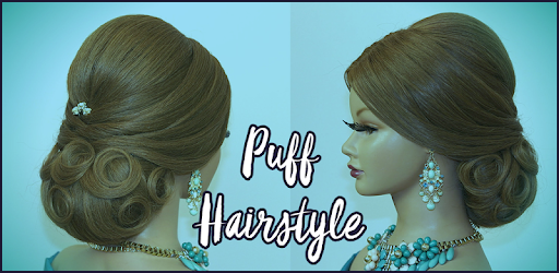 Puff hairstyle step by step video aplicaii pe google play solutioingenieria Image collections