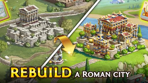 Emperor of Mahjong: Match tiles & restore a city filehippodl screenshot 20