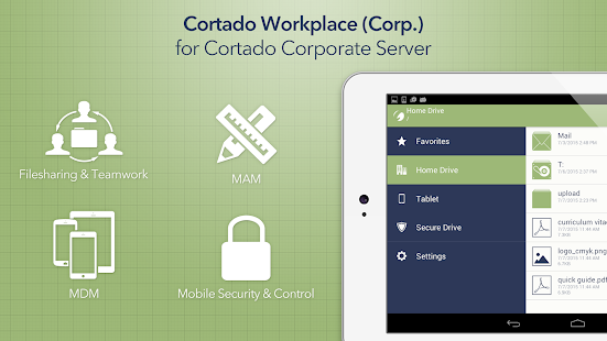 Cortado Workplace- screenshot thumbnail