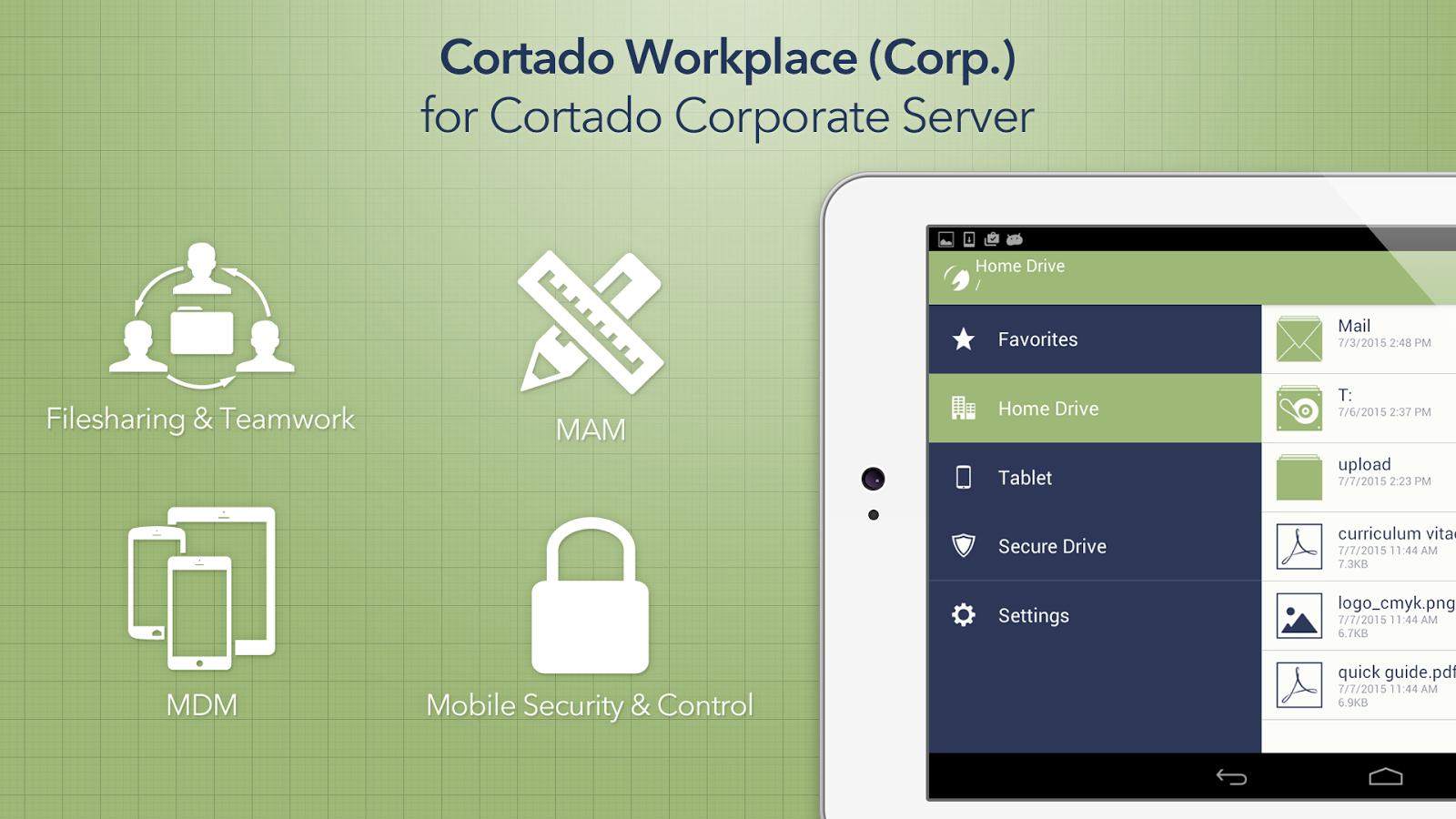 Cortado Workplace (Corp.)- screenshot
