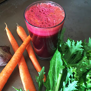 Bright Beets & Greens Juice.