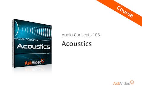 Acoustics Concepts Course screenshot 0