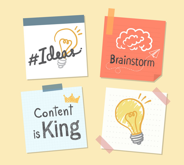 Plan while creating a creative content, content is a king