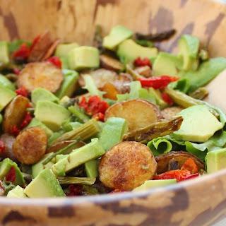 Roasted Potato & Asparagus Salad with Avocado & Sun-dried Tomatoes