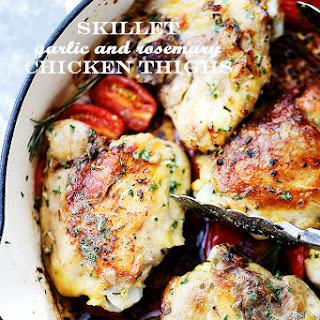 Garlic Chicken Thighs Pasta Recipes.